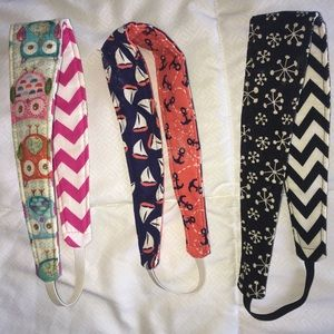 Accessories - Set of 3 Reversible Headbands!